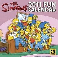 Simpsons - nástěnný kalendář 2011