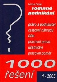 1000 řešení 1/2005