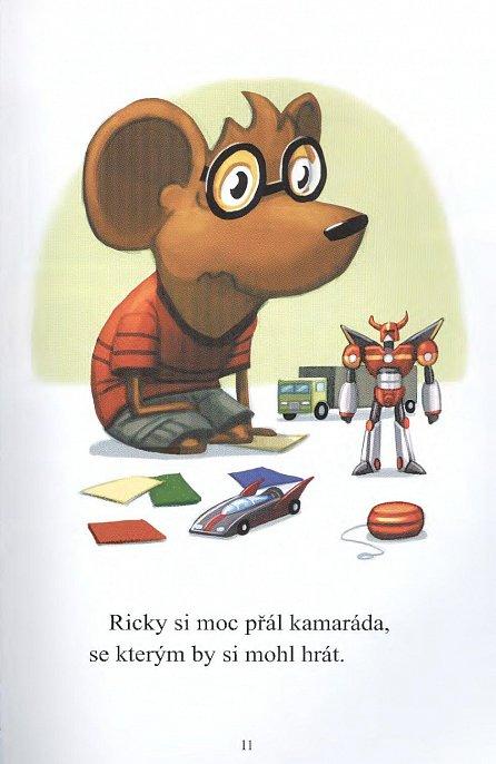 Náhled Nejmocnější robot Rickyho Ricotty
