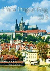 Kalendář nástěnný 2013 - Praha