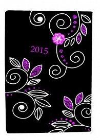 Diář A5 Beauty denní 2015