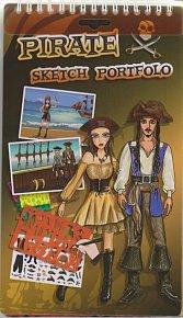 Kreativní skicák - Piráti