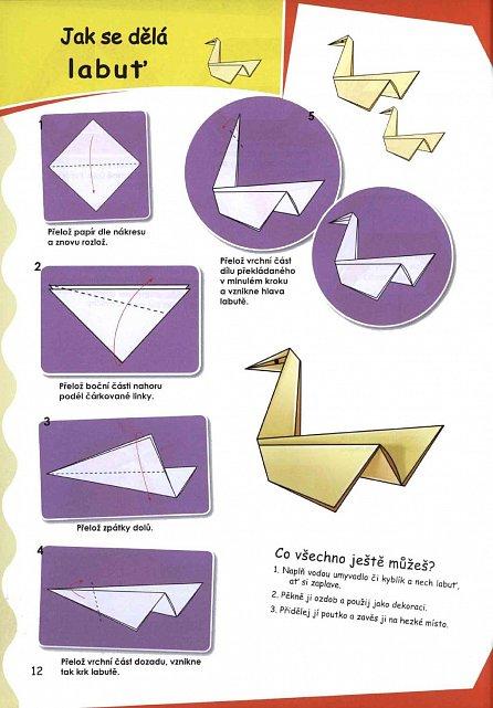 Náhled Origami pro kluky