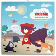 Kalendář plánovací 2017 - Teribear