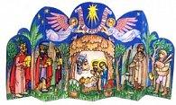 Tradiční vánoční betlém