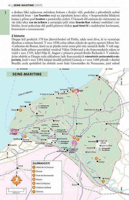 Náhled Bretaň & Normandie - Turistický průvodce