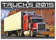 Kalendář 2015 - Trucks - nástěnný s prodlouženými zády