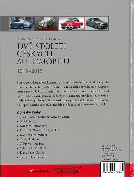 Náhled Dvě století českých automobilů