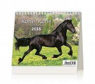 Kalendář stolní 2016 - MiniMax - Koně