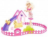 Barbie a štěňátka