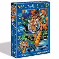 Puzzle Magic 3D 1000 dílků Tygr