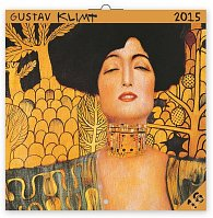 Kalendář 2015 - Gustav Klimt - nástěnný (GB, DE, FR, IT, ES, NL)