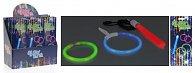 Party set - kroužky a tyčinka zářící ve tmě