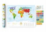 """Dětská interaktivní mapa """"Travel Map Kids"""""""