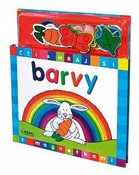 Barvy - Čti a hraj si s magnetkami