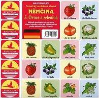 Najdi dvojici Němčina - 5. Ovoce a zelenina