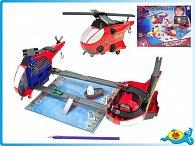 Helikoptéra rozkládací 24cm Spiderman s doplňky v