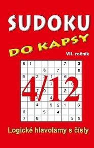 Sudoku do kapsy 4/2012 (červená)