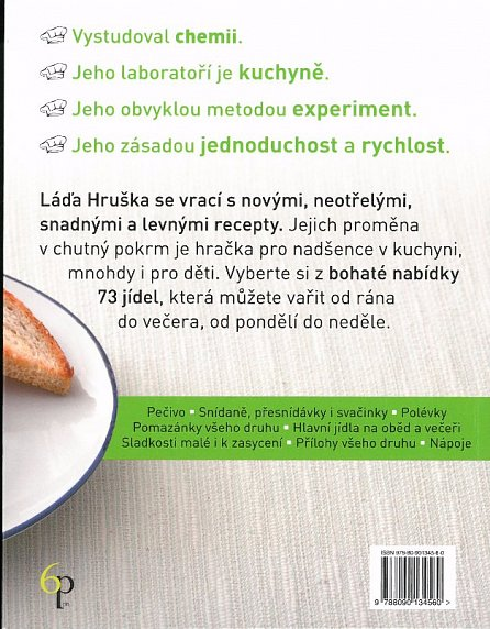 Náhled Láďa Hruška se vrací - Kuchařka pro samouky