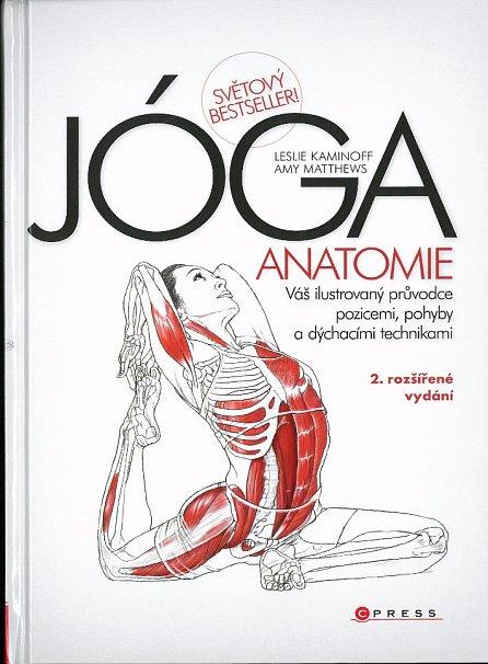 Náhled JÓGA - anatomie, 2. rozšířené vydání