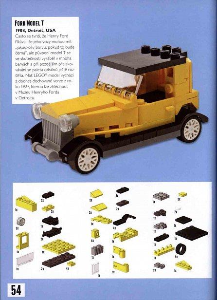 Náhled Kostky a kola - Skvělá vozidla, plavidla a letadla ze stavebnice LEGO