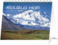 Kalendář 2013 stolní - Kouzlo hor Praktik, 16,5 x 13 cm