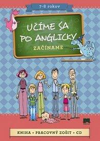 Komplet 3 ks Učíme sa po anglicky Začíname