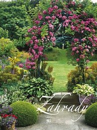 Zahrady - nástěnný kalendář 2015