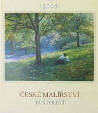 České malířství 19.stol. 2008 - nástěnný kalendář