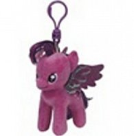 Plyš očka přívěšek My little pony Lic TWILIGHT SPARKLE