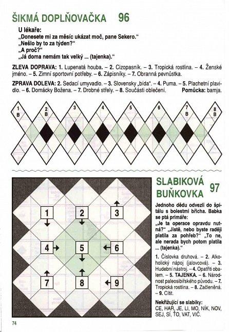Náhled Křížovky z Telpresu luští celá rodina - 248 křížovek 2/2016