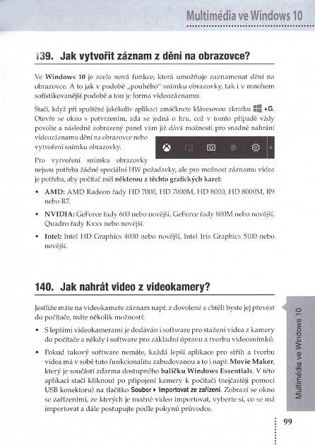Náhled Windows 10 - Praktická příručka