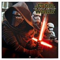 Kalendář poznámkový 2017 - Star Wars The Force Awakens