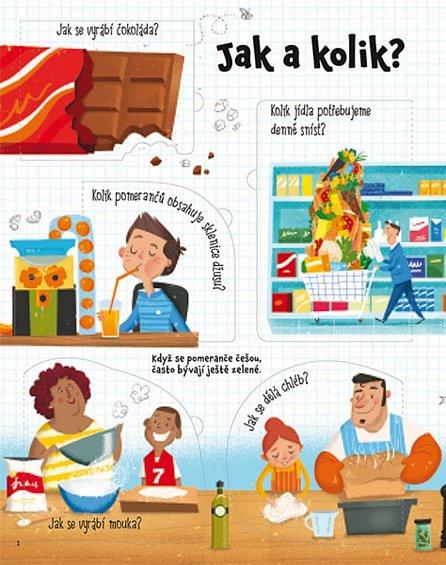 Náhled Otázky a odpovědi o jídle – Podívej se pod obrázek