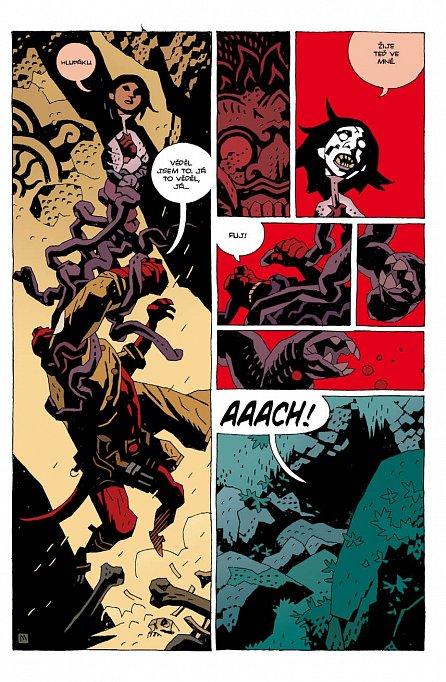 Náhled Hellboy 7 - Pražský upír - brož.