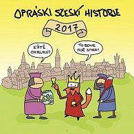 Opráski sčeskí historje - Kalendář 2017