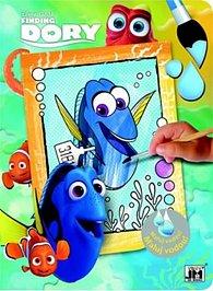 Hledá se Dory - Omalovánky Maluj vodou!