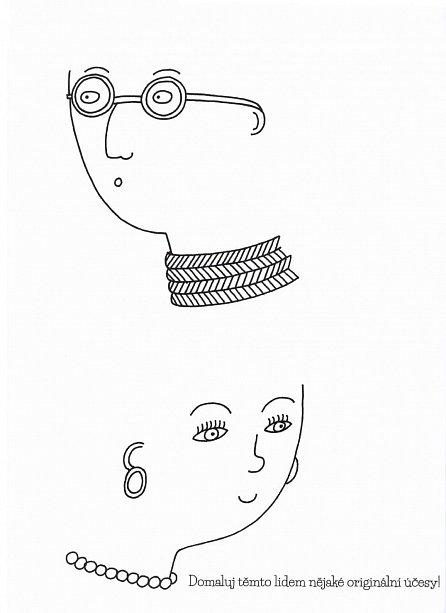 Náhled Buď módní návrhářkou - Omalovánky pro mladé dívky anglicky a česky