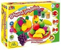 Barevná plastelína - Ovoce