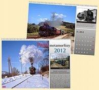 Parní metamorfózy 2012 - nástěnný kalendář