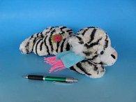 Plyšový Ležící tygr 27 cm
