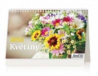 Kalendář stolní 2016 - Květiny