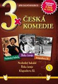 3x DVD - Česká komedie  5.