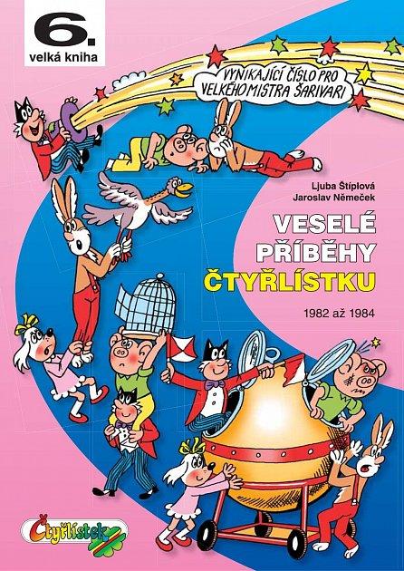 Náhled Veselé příběhy čtyřlístku z let 1982 až 1984 (6.velká kniha)