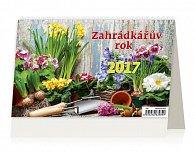 Kalendář stolní 2017 - Zahrádkářův rok