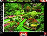 Puzzle Zahrada Butchart, Canada 1000 dílků