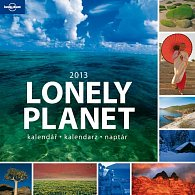 Kalendář 2013 poznámkový - Lonely Planet, 30 x 60 cm