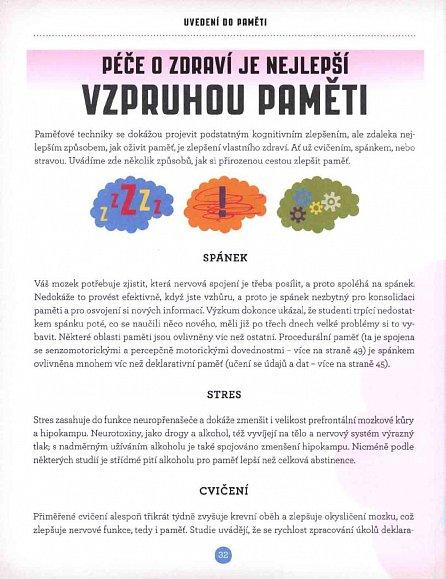 Náhled Síla paměti - Fakta a hádanky, jež oživí a zlepší vaši paměť