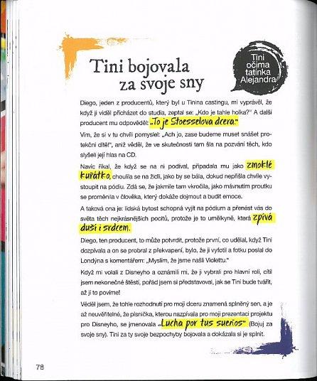 Náhled Říkejte mi Tini - Moje kniha