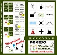 Pexeso Natotata Topografické značky